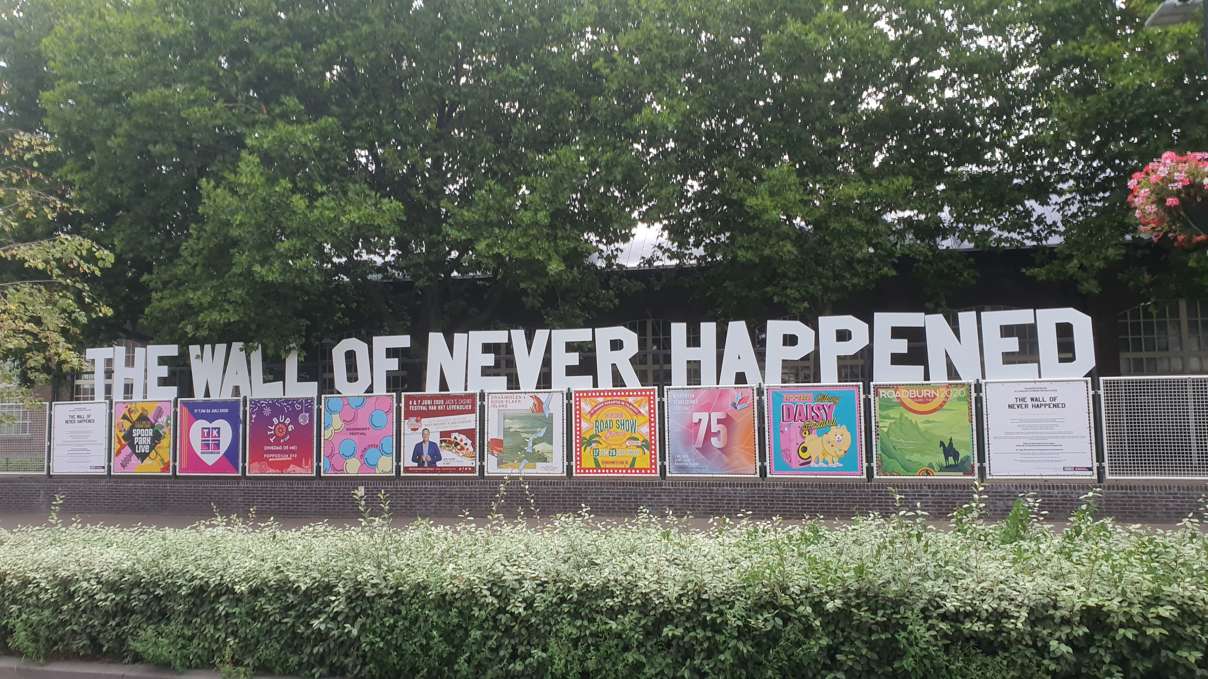 The Wall of Never Happened