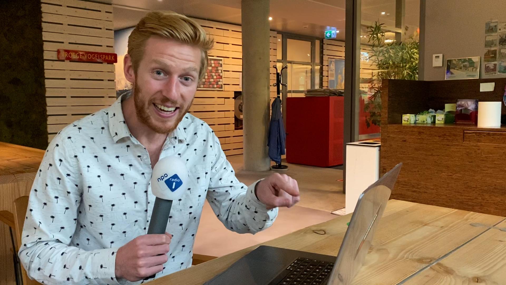 Still NPO Radio 1 aan het werk