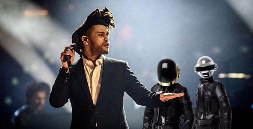 Daft Punk en The Weeknd in één studio?