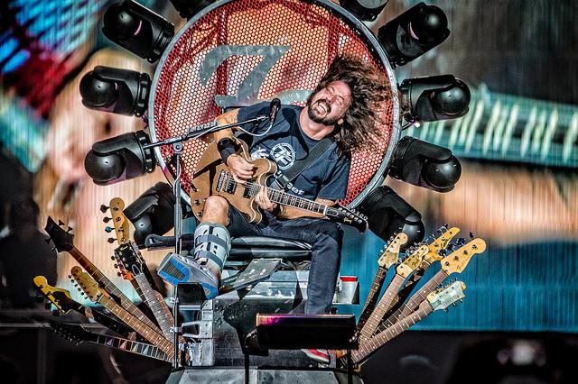 Foo Fighters op Rock Werchter 2017