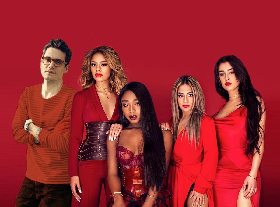 John Mayer wil lid worden van Fifth Harmony