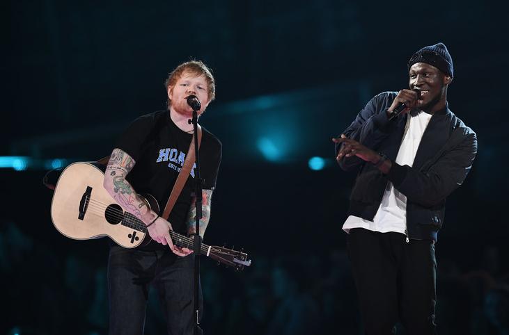 Ed Sheeran haalt Stormzy erbij voor een 'Shape Of You'-remix
