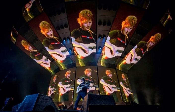 Ed Sheeran startte zijn wereldtour in Turijn en dat zag er zo uit
