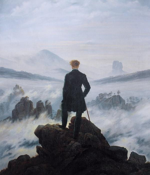 31 866720feb8 1024px Caspar David Friedrich Wanderer above the sea of fog