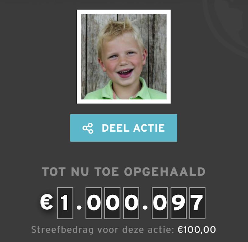 5121398 tijn 1 miljoen euro sr16