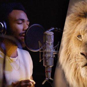Beyoncé, Donald Glover en Pharrell te zien in behind-the-scenesbeelden 'The Lion King'