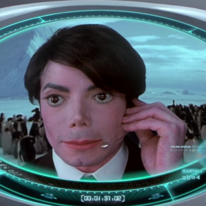 Michael Jackson wilde geheim agent James Bond spelen