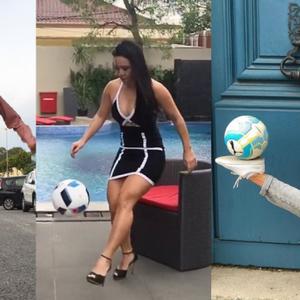 Deze 5 vrouwelijke freestyle voetballers doen de gekste trucs