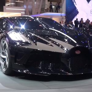 Bugatti sloopt wereldrecord van duurste auto met hypercar: La Voiture Noire
