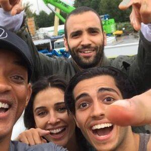 Marwan Kenzari en Will Smith begonnen aan opnames Aladdin