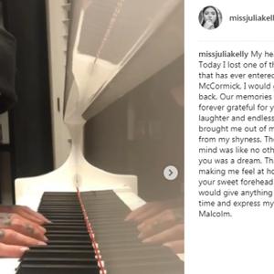 Geheime vriendin van Mac Miller deelt hartverscheurend bericht