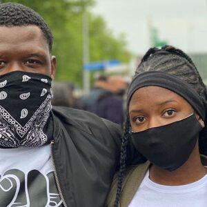 Deze demonstranten in de Bijlmer vertellen waarom ze klaar zijn met racisme