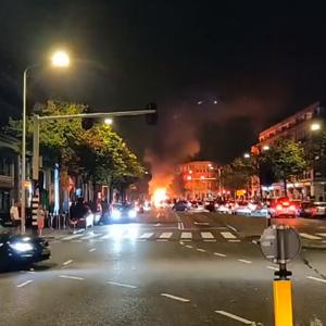 Grote rellen in Haagse Schilderswijk, vier aanhoudingen