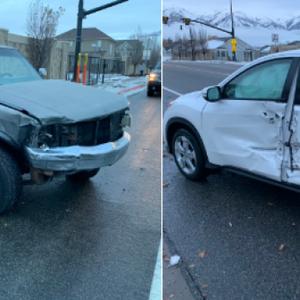 Politie waarschuwt na Bird Box-ongeluk: rijd niet geblinddoekt