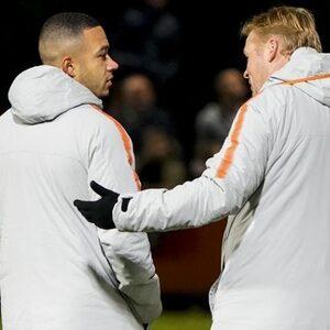 Oranje-spelers wensen Ronald Koeman succes bij Barcelona