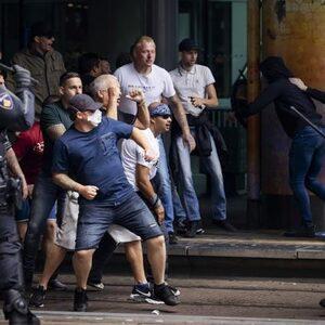 Verboden demonstratie zorgt voor onrustige middag in Den Haag