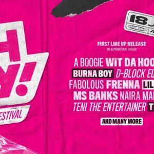 Burna Boy, Tyga en A Boogie Wit da Hoodie op OH MY! Music Festival