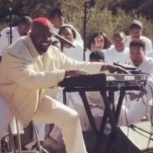 Heerlijke muzikale Sunday Service van Kanye West