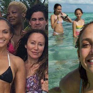 Jennifer Lopez post bikinifoto voor haar 49e verjaardag