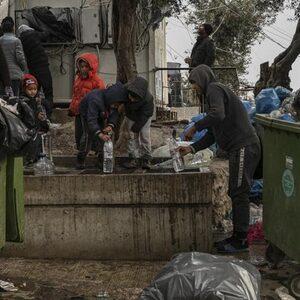 Situatie in vluchtelingenkamp Moria op Lesbos loopt uit de hand