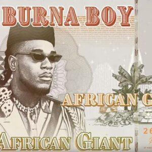 Burna Boy's nieuwe album 'African Giant' is alles wat je nodig hebt met dit warme weer