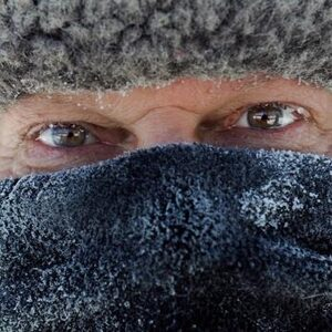 Het is in de VS momenteel even koud als op de zuidpool en zo ziet dat eruit