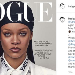 """Rihanna in Vogue over kinderwens en nieuwe muziek: """"Ik heb geen grenzen"""""""