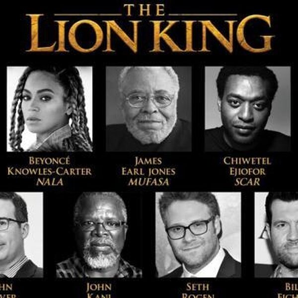 Sterrencast voor Lion King met o.a. Beyoncé en Childish Gambino!