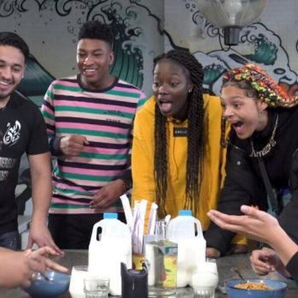 Spicy noodle-challenge laat de FunX Strijders zweten (en kotsen)