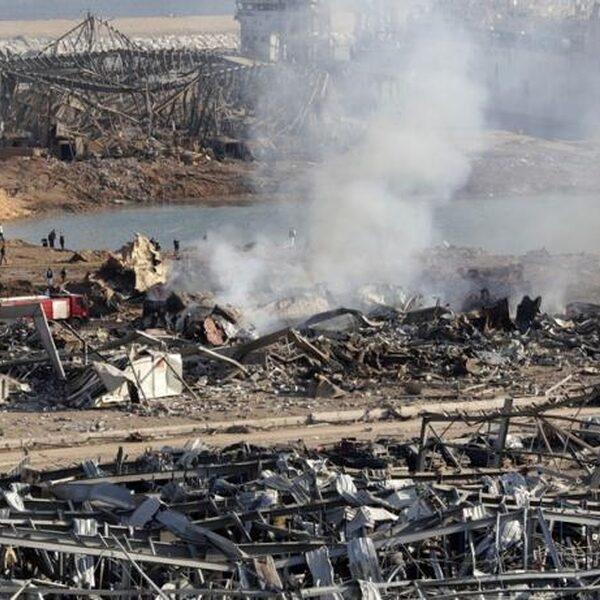 'Einde Libanon ligt op de loer na explosie'