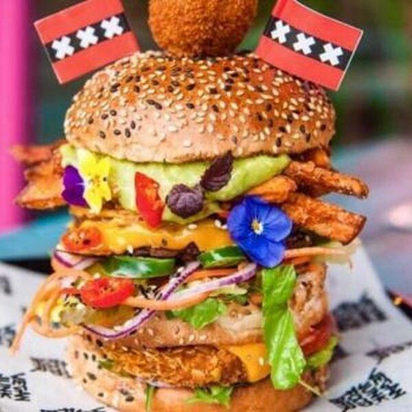 5x Vegetarische Fastfood in Amsterdam