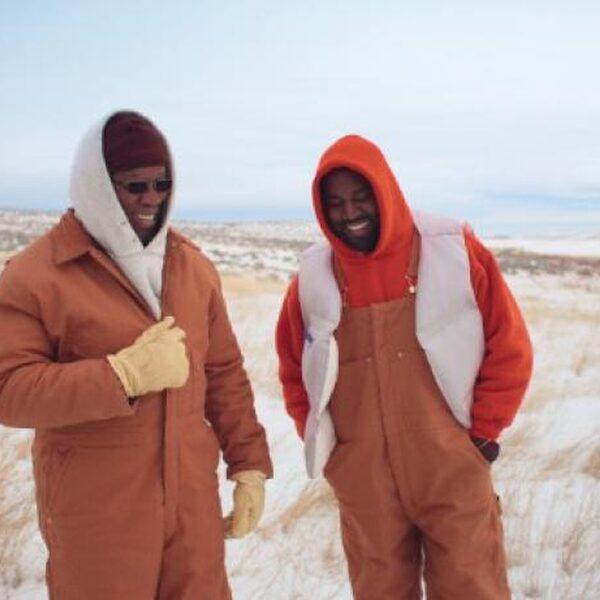 Kanye West en zijn vader crossen door de sneeuw in 'Follow God'-video