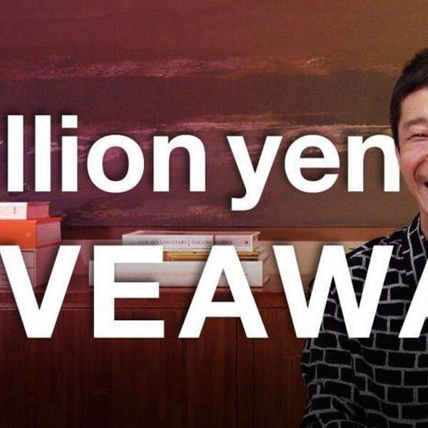 Japanse miljardair geeft 8,2 miljoen euro weg op Twitter
