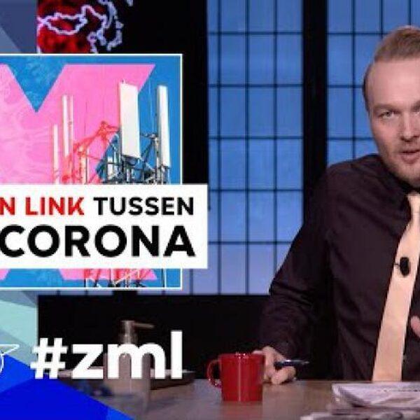 Zondag met Lubach maakt complottheorie-video met feiten over 5G en corona