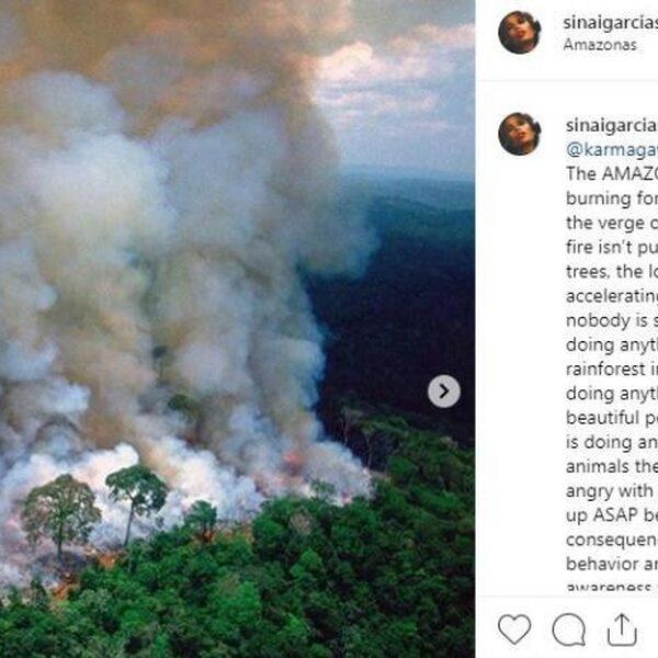 """#PrayforAmazonia gaat viral: """"Amazonewoud staat al 3 weken in de fik!"""""""