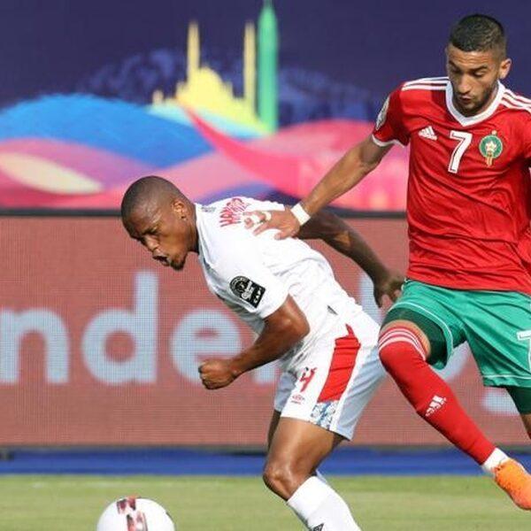 Marokko wint eerste duel Afrika Cup dankzij ongelukkig eigen doelpunt
