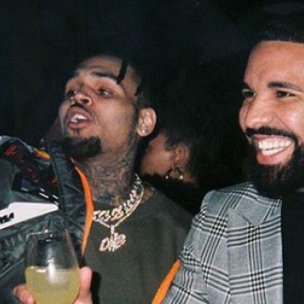 """Drake hint naar mogelijke collab met Chris Brown: """"Aubreezy"""""""