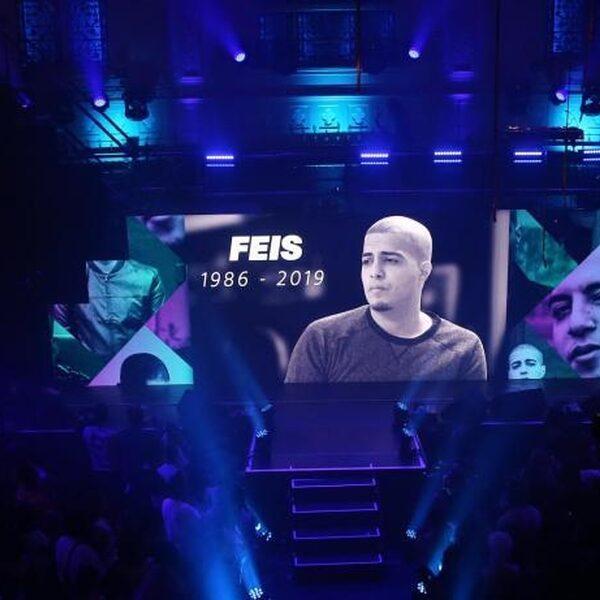 Eerbetoon aan Feis tijdens FunX Music Awards
