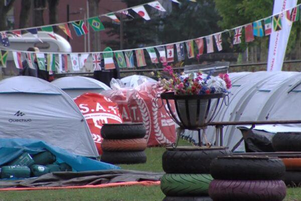 Tilburgse studenten verblijven in tentenkamp door woningnood