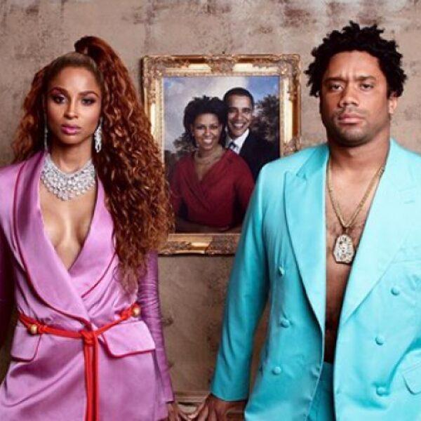Social Talk: Ciara en man verkleden zich als Bey & Jay