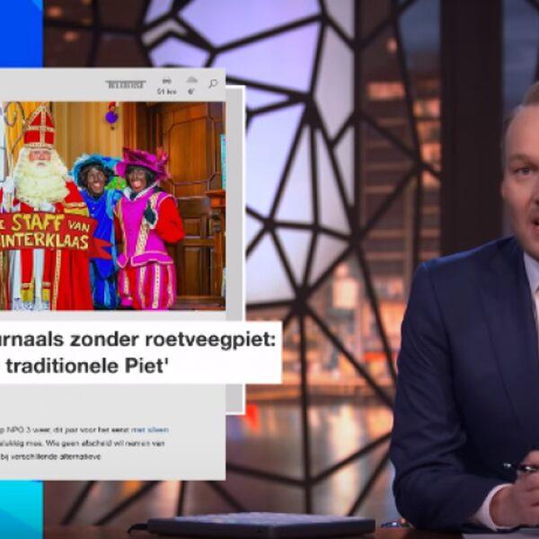Arjen Lubach drijft de spot met lokale Sinterklaasjournaals