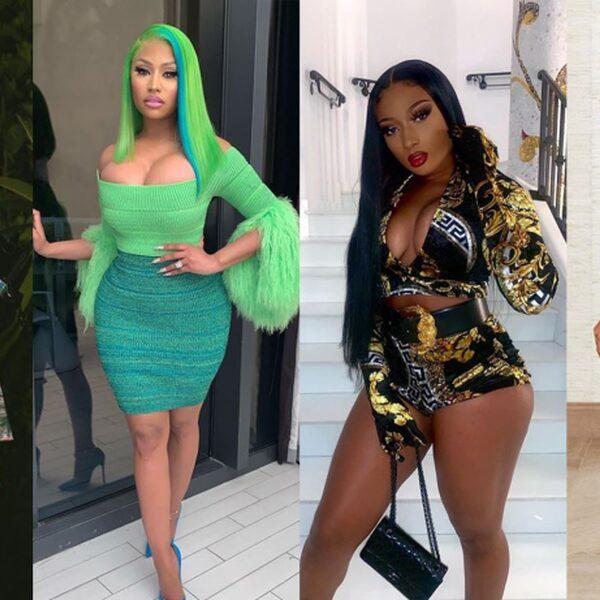 Doja Cat, Nicki Minaj, Megan Thee Stallion en Beyoncé breken samen records