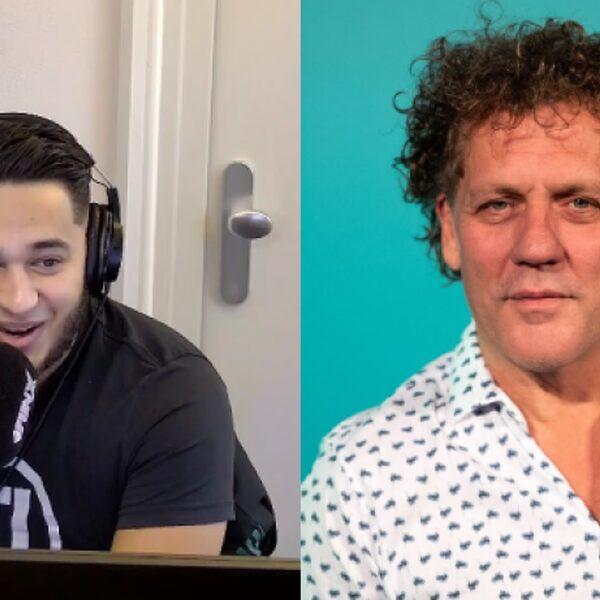 Youssef krijgt oplicht-appje tijdens uitzending, Kees van der Spek geeft advies