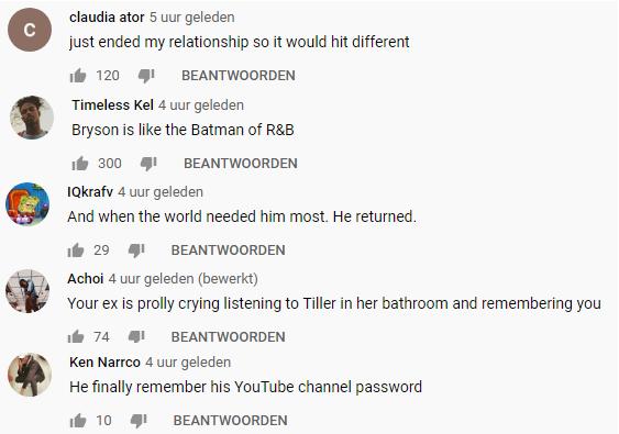 Bryson comments