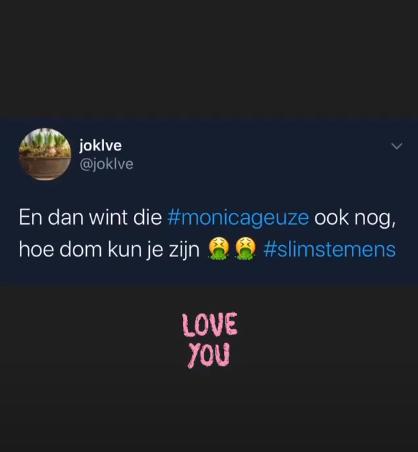 Tweet monica