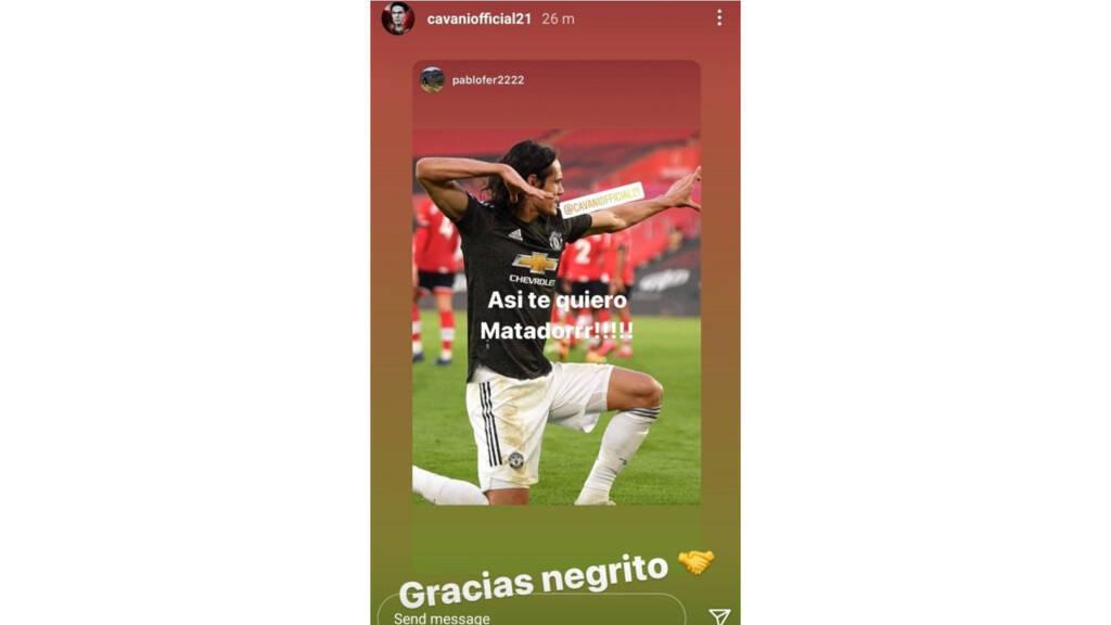Cavani Gracias Negrito