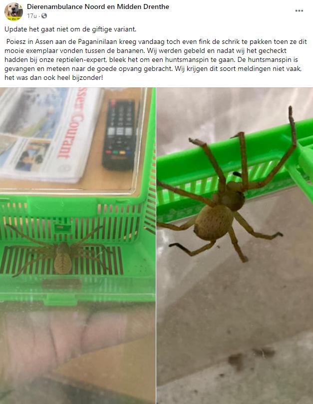 Facebook Post Midden drenthe