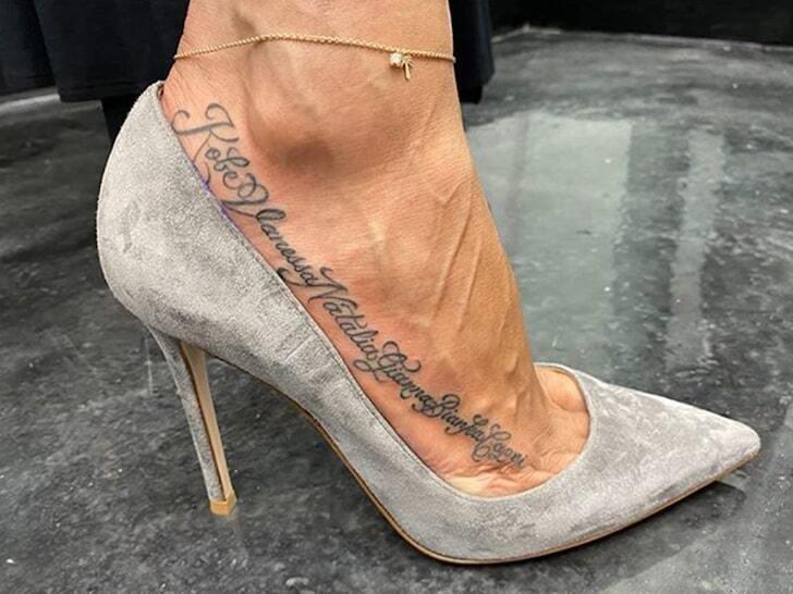 Vannessa Bryant tattoo