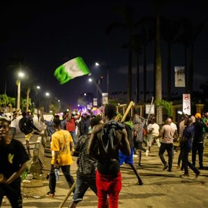 Demonstranten in Lagos beschoten door Nigeriaanse leger