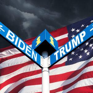 Nek-aan-nekrace tussen Biden en Trump